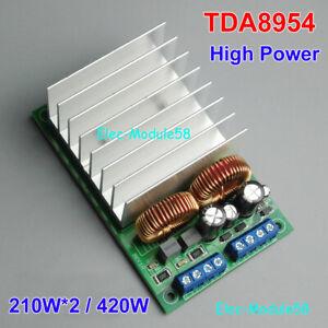 TDA8954 HiFi 210W*2 High Power Digital Amplifier 2 Channel Audio Amp Board