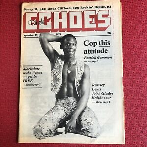 Black Echoes  29 September 1979 Patrick Gammon, Boney M, Linda Clifford...