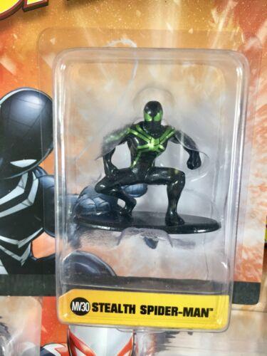 Nano metalfigs Marvel Spider figure toy die-cast métal neuf box Navire rapide U pick
