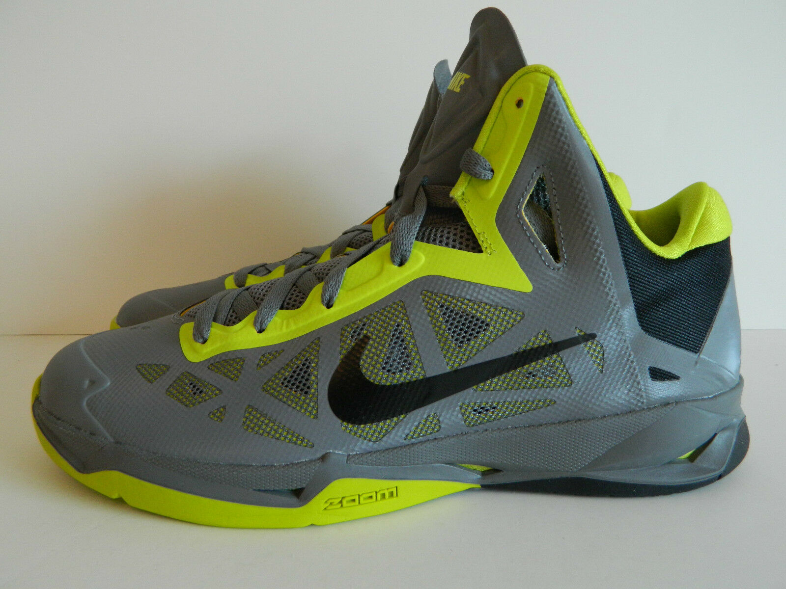 Nike zoom hyperchaos (cool 006) grey e atomic green) (536841 006) (cool pennino.!! c04963