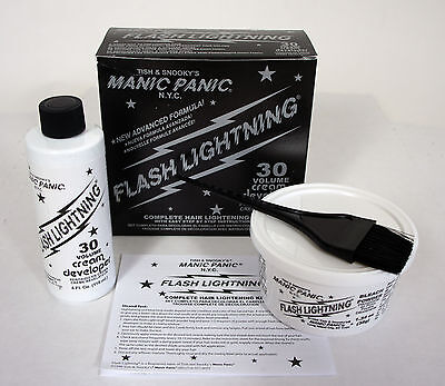 MANIC PANIC Flash Lightning Hair Bleach Kit 30 VOLUME Vol NEW