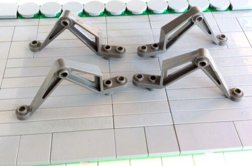 4 Piece 30211 8 # LEGO SPIDER LEG insektoid support Old Dark Grey 6837 2965