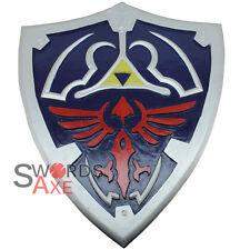 Legend of Zelda Link Breath the Wild Wooden Shield LARP Cosplay Weapon Costume