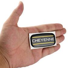 1x Cheyenne Cab Emblem Right Left Badge Roof Pillar For 88 07 Silverado Yellow