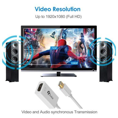 to HDMI Adapter Rankie Mini DisplayPort Mini DP Thunderbolt