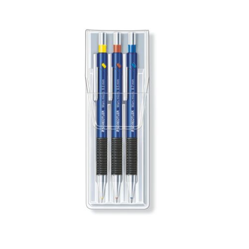 Staedtler Druckbleistift 3er-Set 0,3//0,5//0,7 mm Feinminenstift mars micro 775
