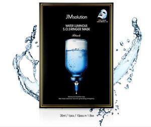 JM-SOLUTION-Water-Luminous-S-O-S-Ringer-Mask-Black-1Pack-10ea