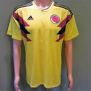 9ac4c4ba5 Colombia National Team Home Men's Soccer Jersey 2018 World Cup ...