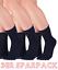 3er Sparpackknitido Essentials Midi Orteils Chaussettes Coton Pour Femme /& Homme