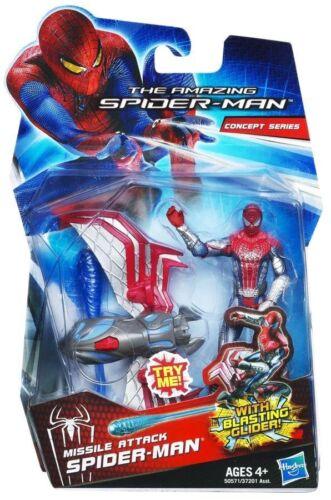 "MARVEL SPIDER-MAN MISSILE ATTACK sabbiatura ALIANTE 3.75/"" Action Figure"