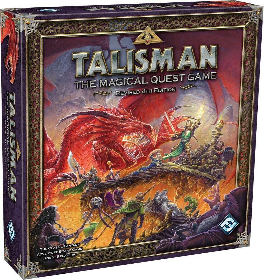 Talisman revisado 4th Edición Juego de Tablero