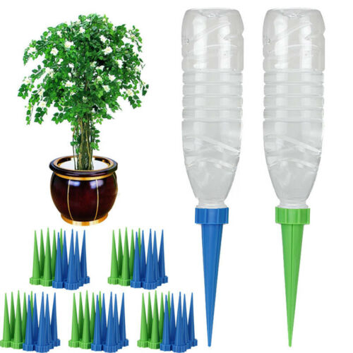 Demiawaking 5-Piece//Set Garden Cone Watering Spikes Drip Controller Hot nett