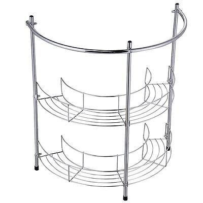 Under Basin Rack 2 Tier Bathroom Sink Storage Shelf Organiser By Home Discount