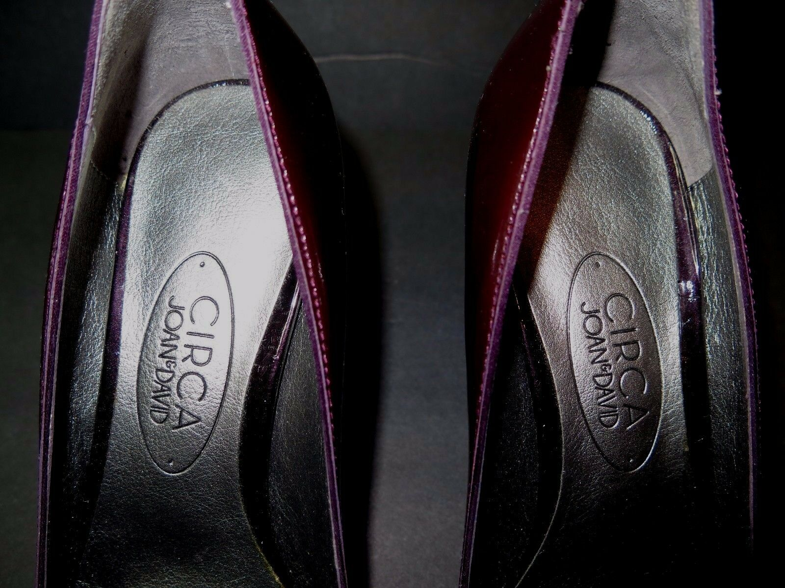 New Beautiful DAVID Designer CIRCA JOAN & DAVID Beautiful Patent Leder Pump Schuhes 7-1/2 M 41e26f