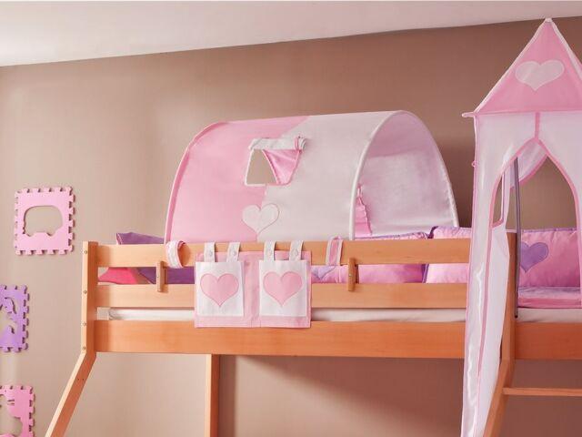 Etagenbett Rosa : Rosa kinder etagenbett mädchen doppelbett bett prinzessin