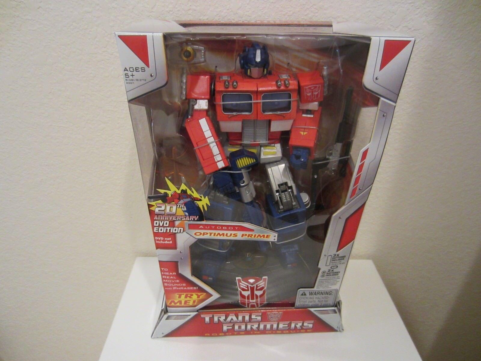 Transformers Movie 20th Anniversary Optimus Prime12 RID Action Figure 2006 new