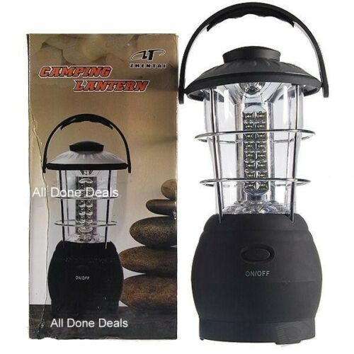 Super Bright 48 LED Outdoor Lamp Camping Garden Lantern Torch NEW