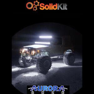 Aurora-WHITE-LED-Rock-Multi-Function-Mini-Light-TWIN-PACK