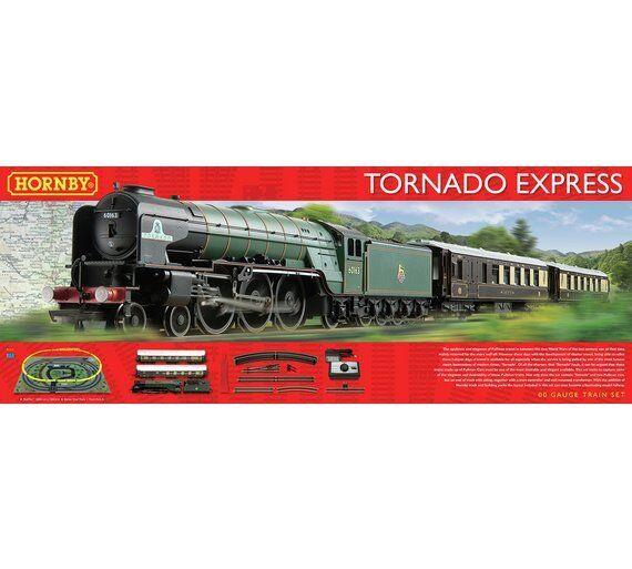 Hornby Tornado Express Train Set