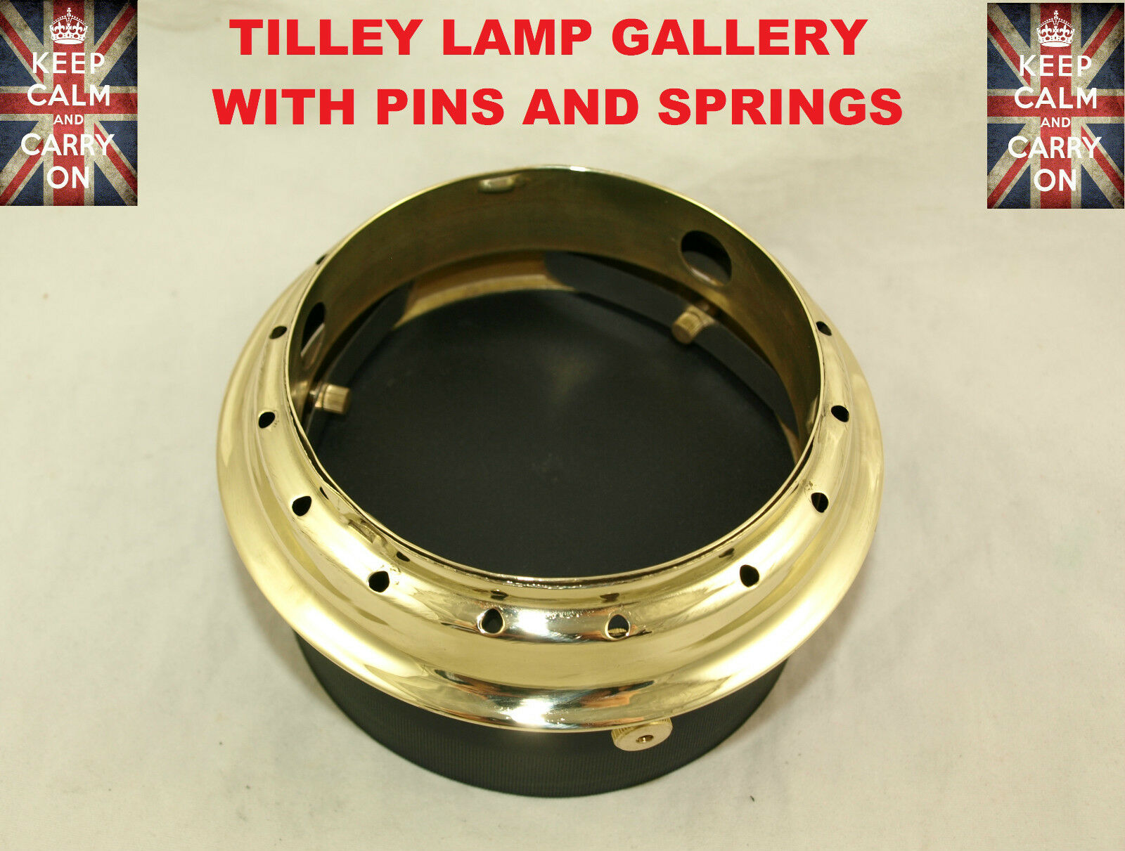 TILLEY LAMP GALLERY AND SPRINGS  TABLE LAMP SERVICE  KIT PARTS SPRINGS HOOD  promotional items
