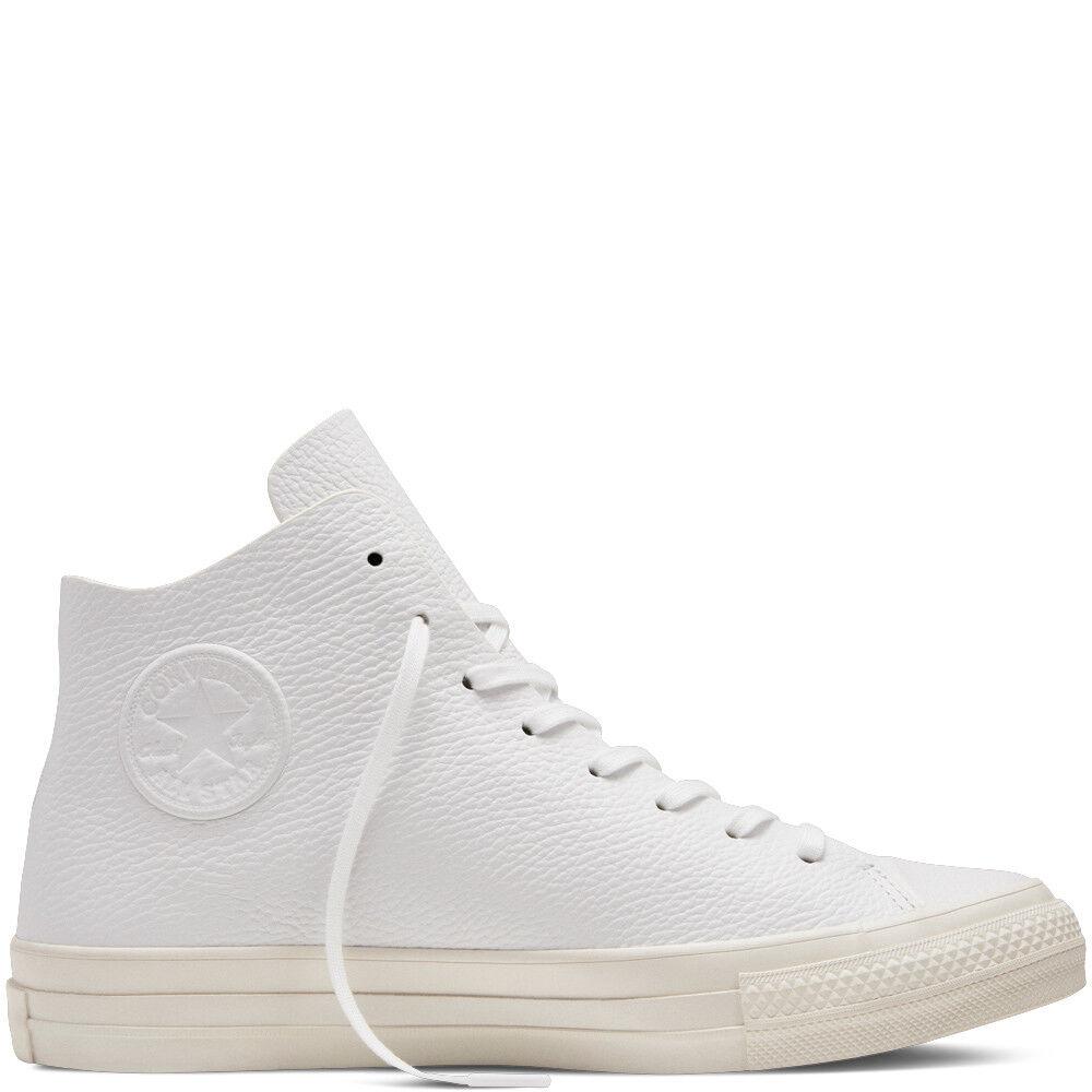 NIB  135 Converse CTAS Prime Hi White/White/Egret 154837C US Uomo 8