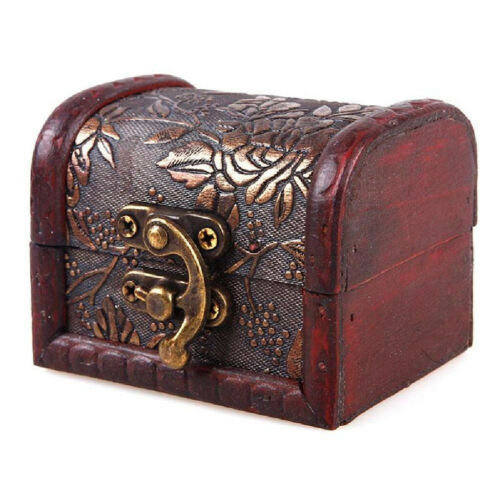 Details about  /Vintage European jewelry box wooden box Antique old wooden box
