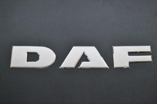 3D mit Spiegel Edelstahl Stahl Vorne Abzeichen Grill Kompakt für Neue DAF XF 106
