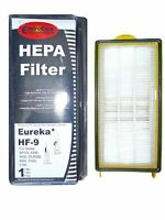 (1) 60285 Eureka Hf9 Hepa Pleated Vacuum Filter, Bagless Cyclonic, Heavy Duty Up