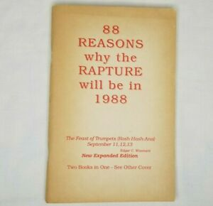 discount 60% off outlet 88 Reasons Why The Rapture Will Be In 1988 ...