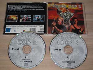 Cyborg Cop III Cd-I Vídeo CD - German Pal Press en Menta