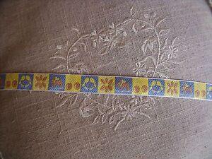Nouveau Galon Jacquard Moi Mon Chien Cerise Et Fleurs Vendu Au Mètre E9gazven-07234319-953130979