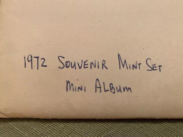 1972 Usps Timbre Mini Album