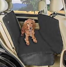 Nuevo impermeable auto posterior Cubierta de asiento trasero para Mascota Perro Gato Protector Hamaca Mat Negro