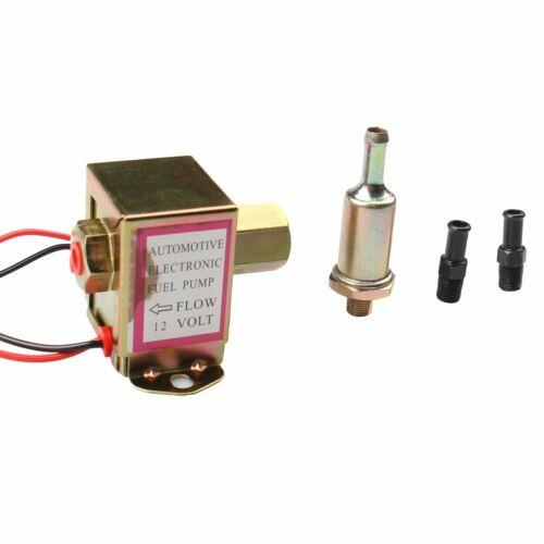 Carbole Facet 12V Electronic Fuel Pump 2.5-4 PSI Ref # E8012S FD0002 EP12S