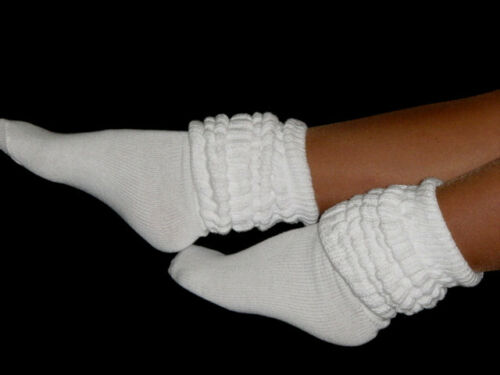Details about  /6 3 Pink /& White Slouch Knee Socks Hiking Hooters Uniform halloween costume