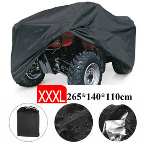 Xxxl 190t Waterproof Atv Storage Cover Universal For Polaris Honda Yamaha Suzuki Ebay