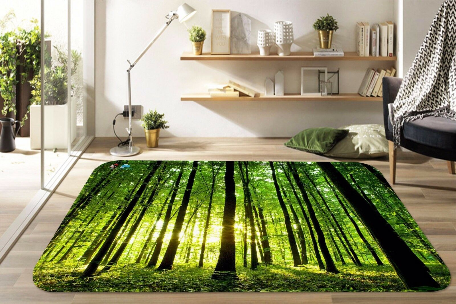 3D Sunshine Grove 822 Non Slip Rug Mat Room Mat Round Elegant Photo Carpet CA