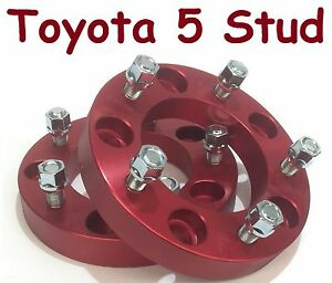 2-Wheel-Hub-Spacers-5-Stud-Toyota-Landcruiser-100-105-200-205-70-76-78-79-series