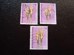 Briefmarke Halten Sie Die Ganze Zeit Fit 579 X3 Gestempelt a27 Briefmarke Yvert/tellier Nr Côte D Ivoire