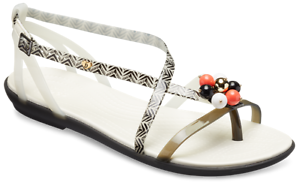 Crocs DREW BARRYMORE BARRYMORE DREW ISABELLA estampada Sandalias planas playa verano mujer a18c50