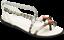 Crocs-Drew-Barrymore-Isabella-Graphic-Flat-Sandals-Beach-Summer-Womens-Holiday thumbnail 1