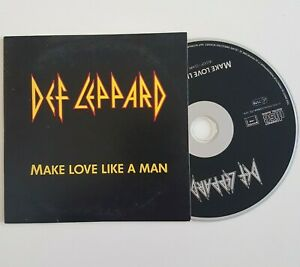 DEF-LEPPARD-MAKE-LOVE-LIKE-A-MAN-X-RARE-FRENCH-PROMO-CD
