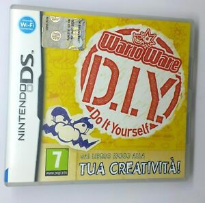 WARIO-WARE-D-I-Y-Do-It-Yourself-Nintendo-DS-2DS-3DS-Manuale-in-Italiano