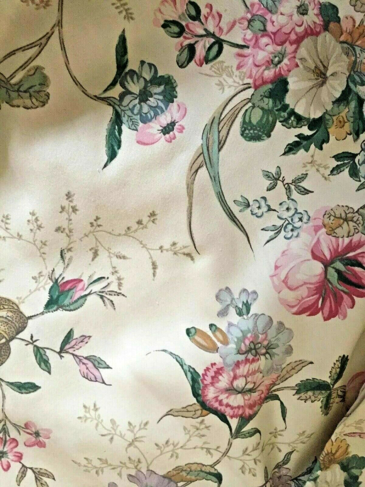 LUXUS Dorma V & A Collection Guinevere Floral Print Vorhänge Gardinen NP - 185 E