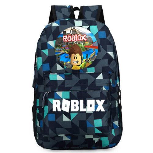 Roblox Backpack Kids Boys Girls School Students Bag Bookbag Handbags Travelbag
