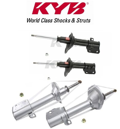 KYB 4 Excel-G Struts Shocks Assemblies for Subaru Impreza Outback 95-00