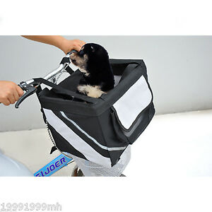 PawHut-Travel-Pet-Carrier-Bicycle-Dog-Cat-Kennel-Portable-Tote-Crate-Basket