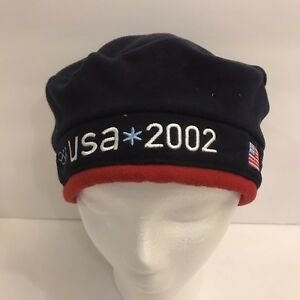 78065d2b0ce47 Details about Team USA 2002 Roots Winter Olympics Official Beret Hat New  Tags Salt Lake City
