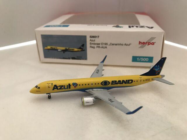 Herpa Wings 1:200 embraer e195 azul brazilian airlines PR-axh 557771
