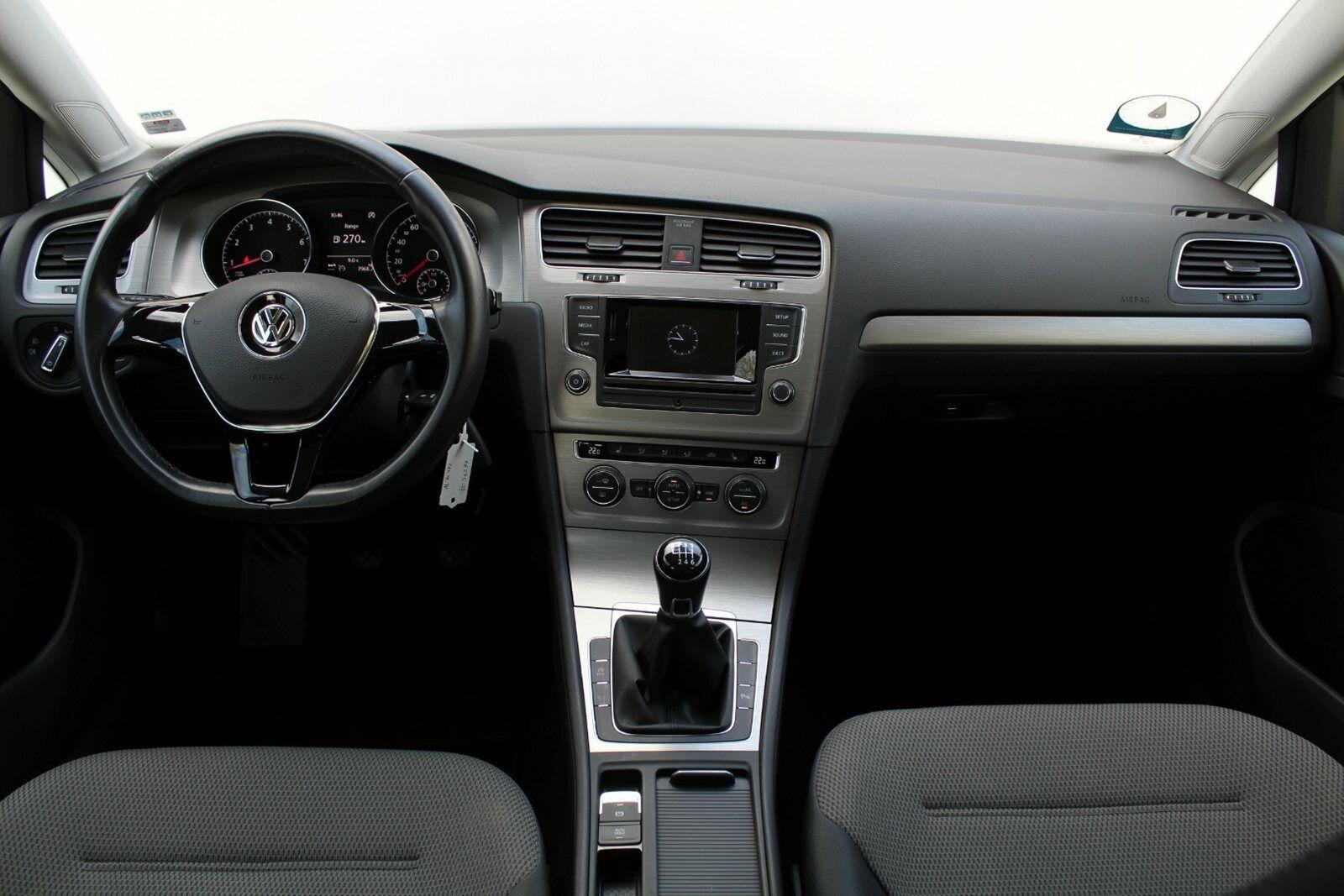 VW Golf VII 1,4 TSi 122 Comfortl. Vari. BMT - billede 6